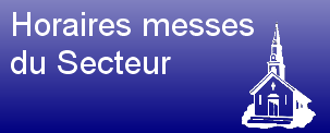 Bouton horaires messe