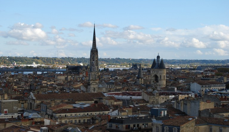 vue Bx et cathédrale